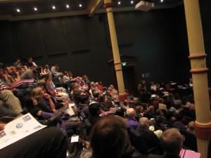 Fra auditoriet