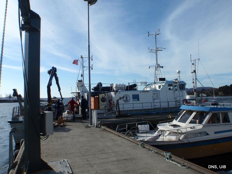 F/F Hans Brattstrøm, en av UiB's båter