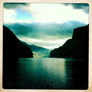 Innover Sognefjorden. Foto: David Rees