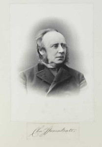 Charles Spence Bate. Foto: Natural History Museum, London, Picture Library.