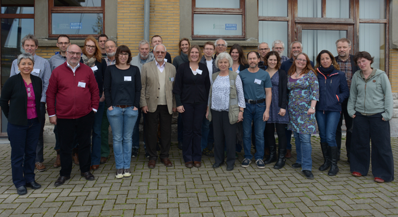 Participants at the workshop. Photo: AHS Tandberg (with help from ? at VLIZ)