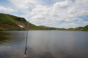 Fra det hemmelige favorittfiskevannet? Foto: AHS Tandberg