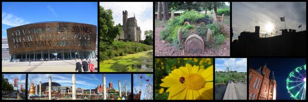 Cardiff var en flott by, og utgjorde en trivelig ramme rundt vitenskapen (foto: K.Kongshavn)