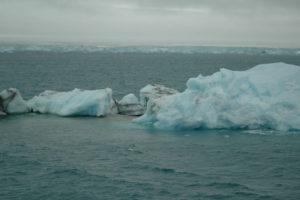 Isflak og mer permanent is, Svalbard. Foto: AHS Tandberg
