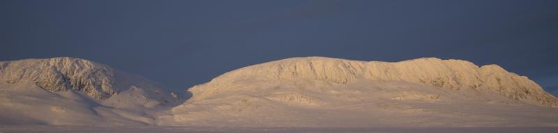 Utsikten til Hallingskarvet fra Ustaoset. Kanskje inspirerte det Fægri og hans kolleger? Foto: AHS Tandberg