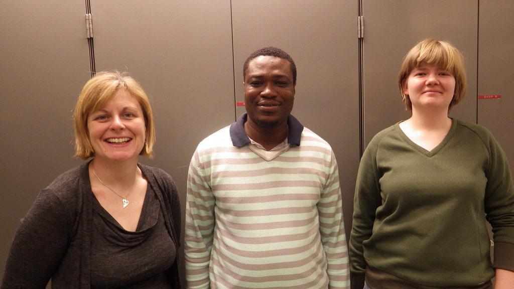 Kate fra Wales, Lloyd fra Ghana, og Polina fra Russland