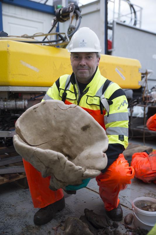 Noen svamper er store... Foto: AHS Tandberg