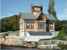 """Biologen"" - den marinbiologiske stasjonen i Drøbak. Foto: UiO."