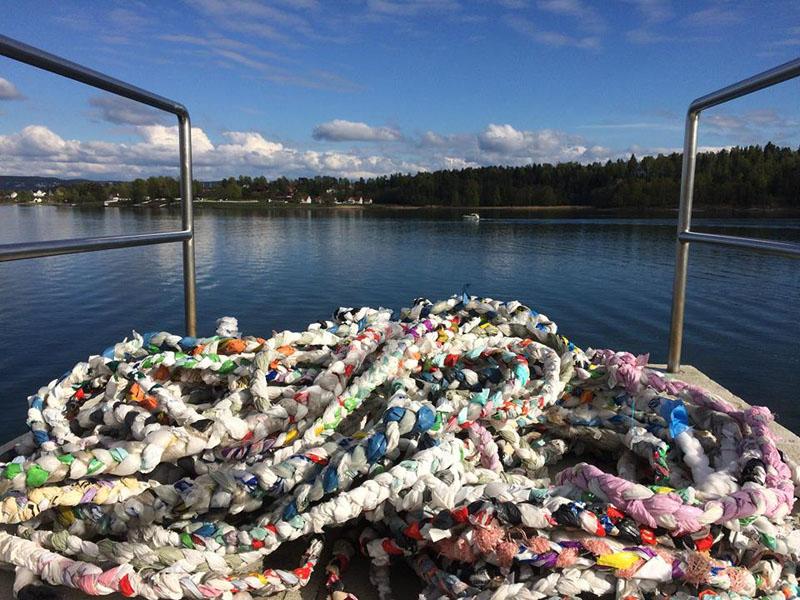 Flette av en del av plasten Pippip har samlet i eget nærområde i år. (www.pippip.no)