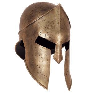 En moderne versjon av en tidlig gresk krigshjelm. (Foto fra www.darkknightarmoury.com)