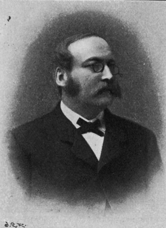 Magnus Ragnar Bruzelius. Foto: Hedning - Varia (1902), Public Domain, https://commons.wikimedia.org/w/index.php?curid=8185720