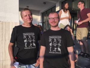 Årets t-skjorte fra den polske gjengen. (foto: AH Tandberg)